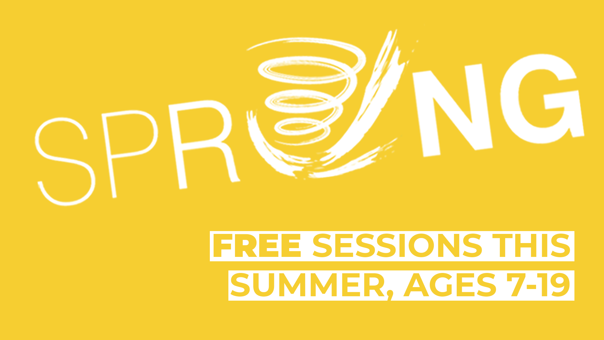 FREE Sprung Summer Workshops in Physical Theatre, Ages 7-19